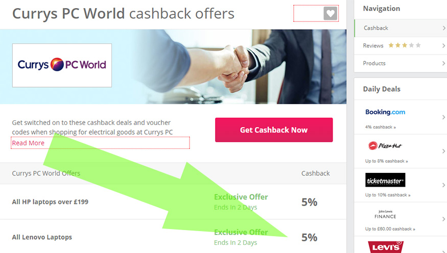 Folosiți site-uri de tip cashback