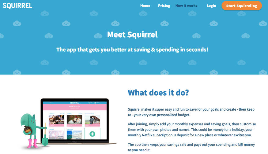 Squirrel app