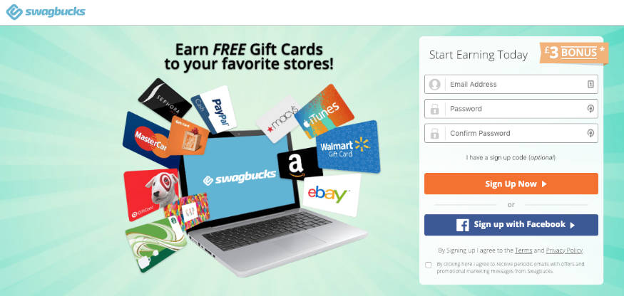 Swagbucks UK